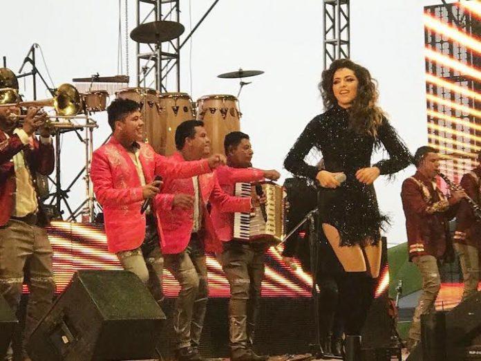 Ruby Escobar hizo vibrar al público