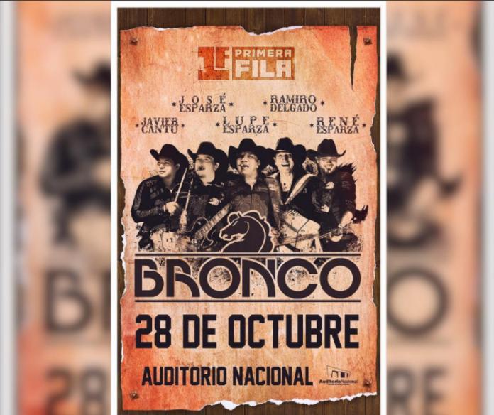 Bronco se presentará en famoso recinto de Mexico
